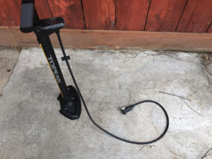 Image of the Topeak JoeBlow Pro Digital pump