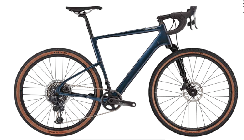 Cannondale's 2021 Topstone Carbon Lefty 1 model in Chameleon