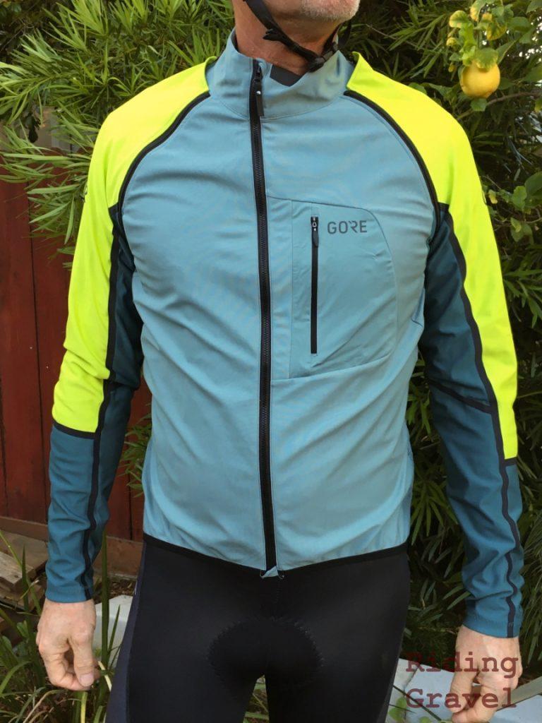 C7 GORE zip-off jersey.