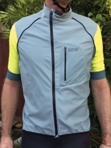 C7 zip-off jersey with sleeves off