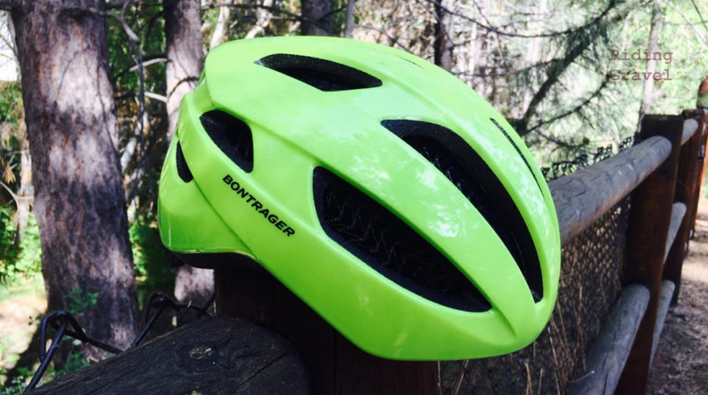 The Bontrager Starvos WaveCell helmet