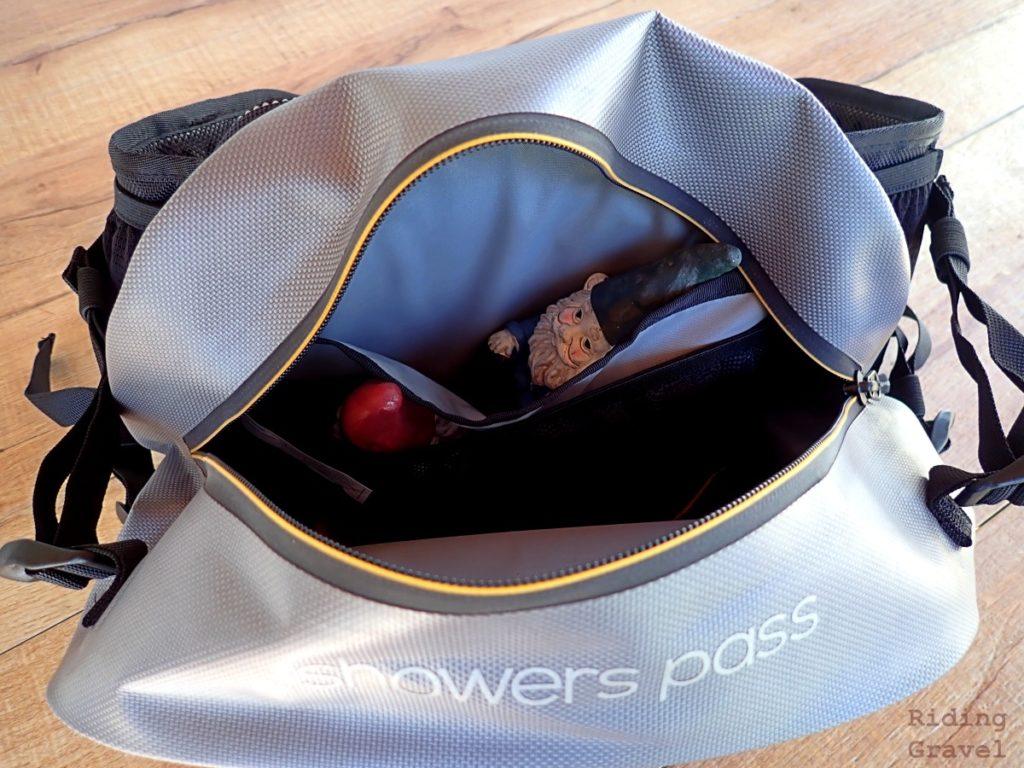 Detail of the inner pocket of the Ranger Hip Pack