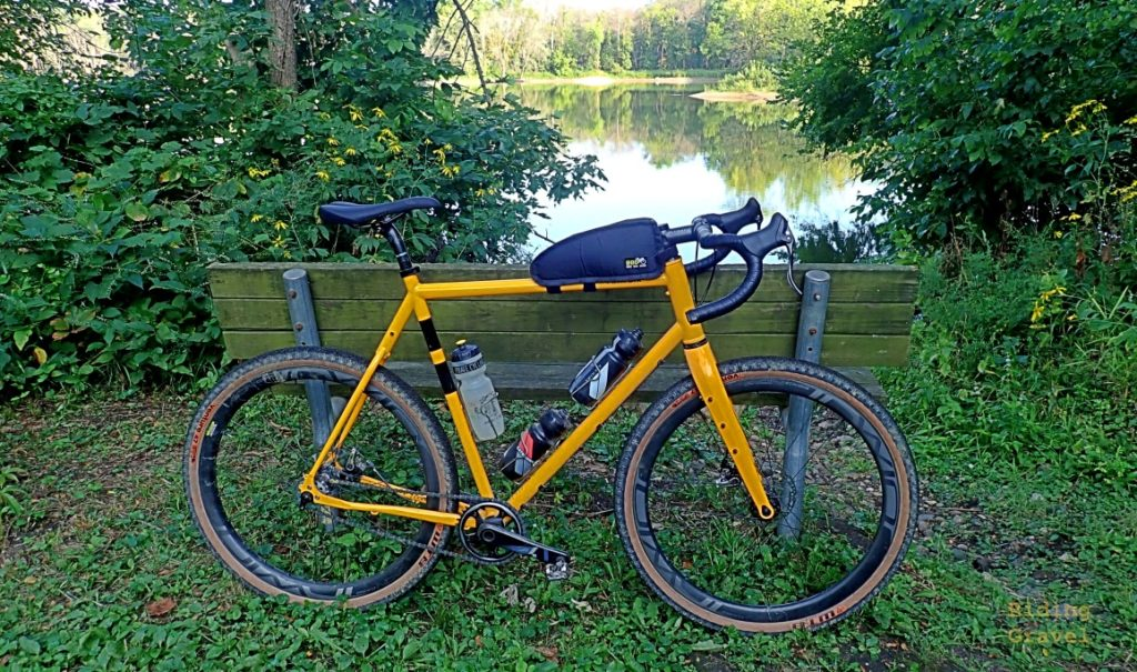 The Twin Six Standard Rando v2 in an outdoor setting