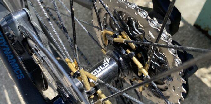 Gulo GRX-SL rear hub