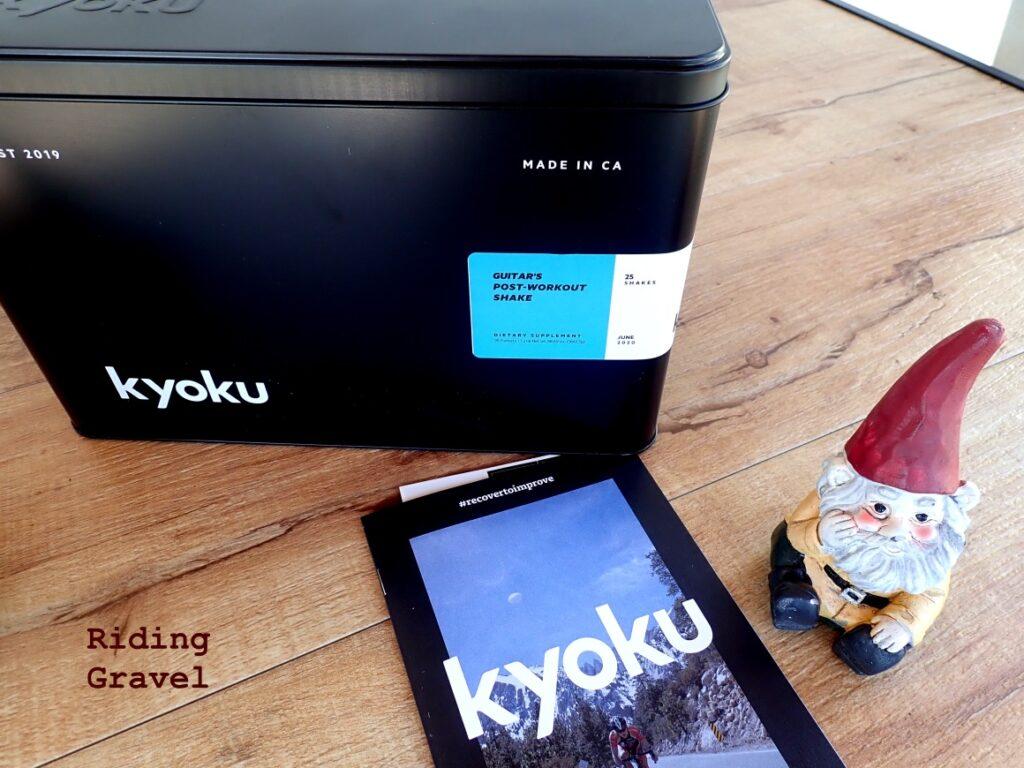 Tin box and brochure from Kyoku