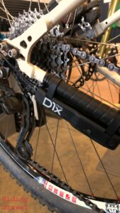 Archer Components D1x shifter box mounted to a bike