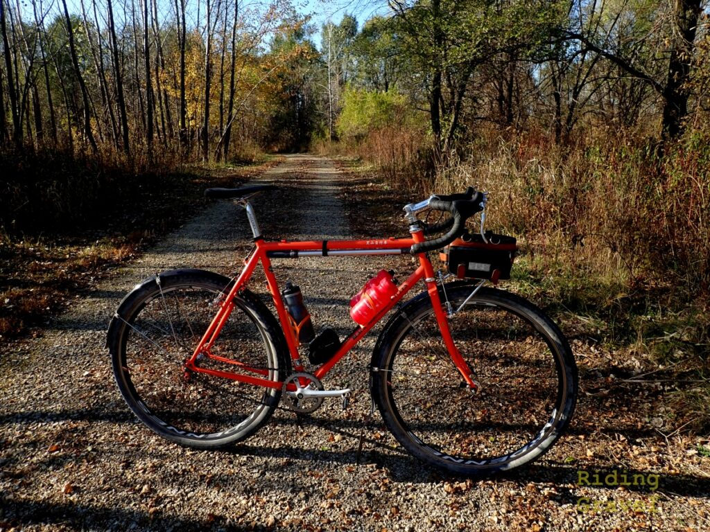 A Black Mountain Cycles Monster Cross model bike with WTB Raddler SG2 tires