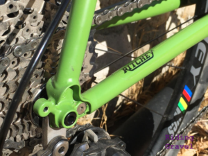 Ritchey Outback frame detail shot