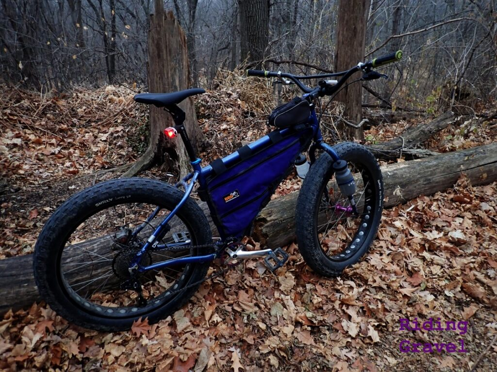 Guitar Ted's 2011 Salsa Cycles Mukluk set up with D1X
