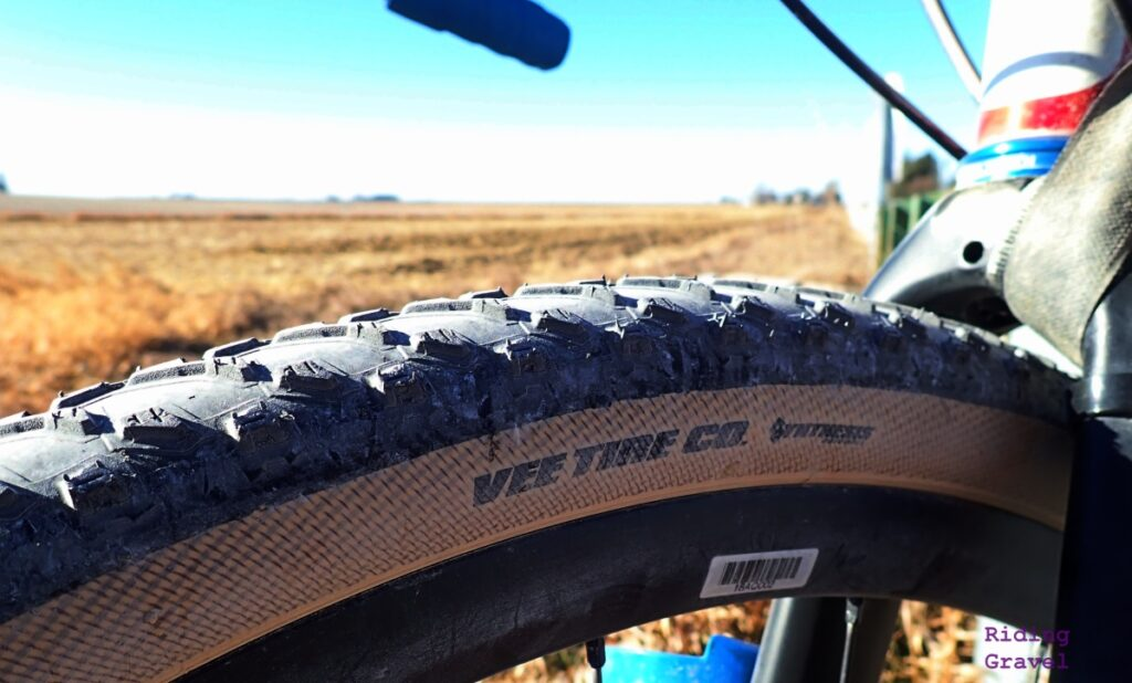 Detail of a Vee Tire Rocketman