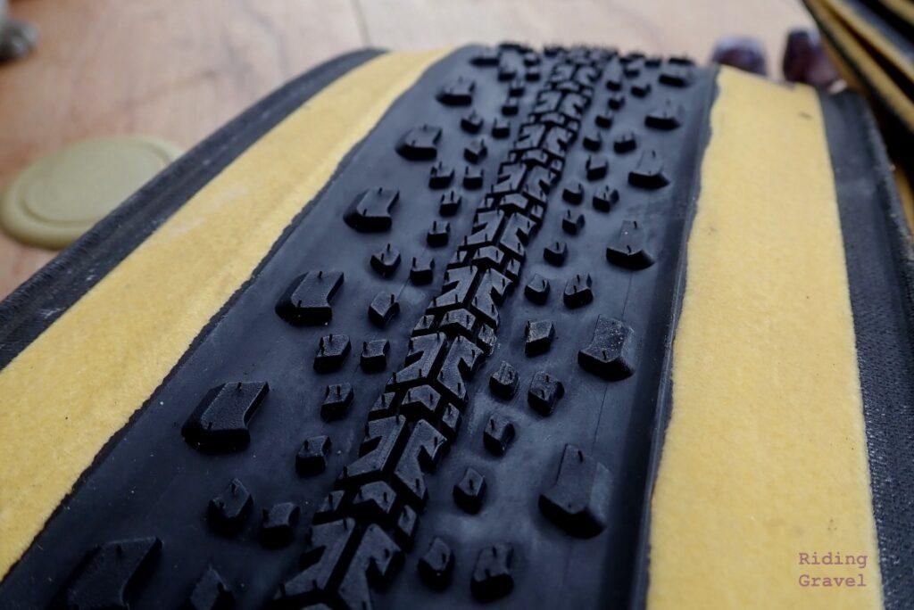 Detail of the Getaway tread pattern