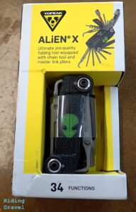 The Alien X in its packaging