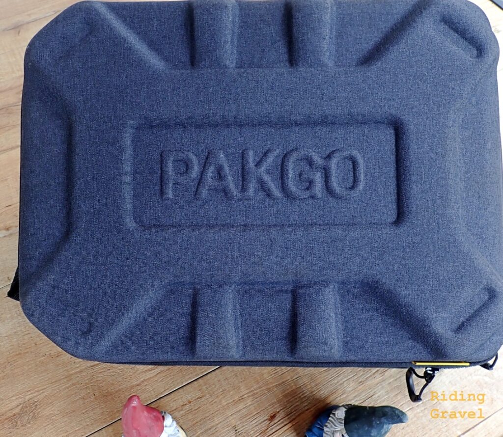The Topeak Pakgo bag