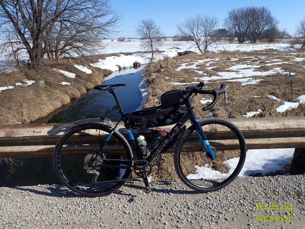 The WTB Proterra wheel set on the Noble Bikes GX5