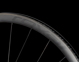 Detail of the Roval Terra CL rim