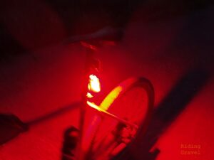 The Ravemen TR30M casts an all around glow when in use.