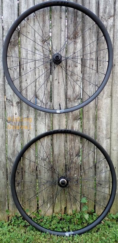 The WTB CZR wheels.